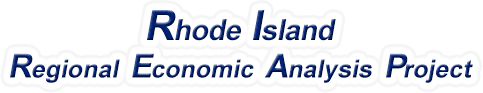 Rhode Island Regional Economic Analysis Project